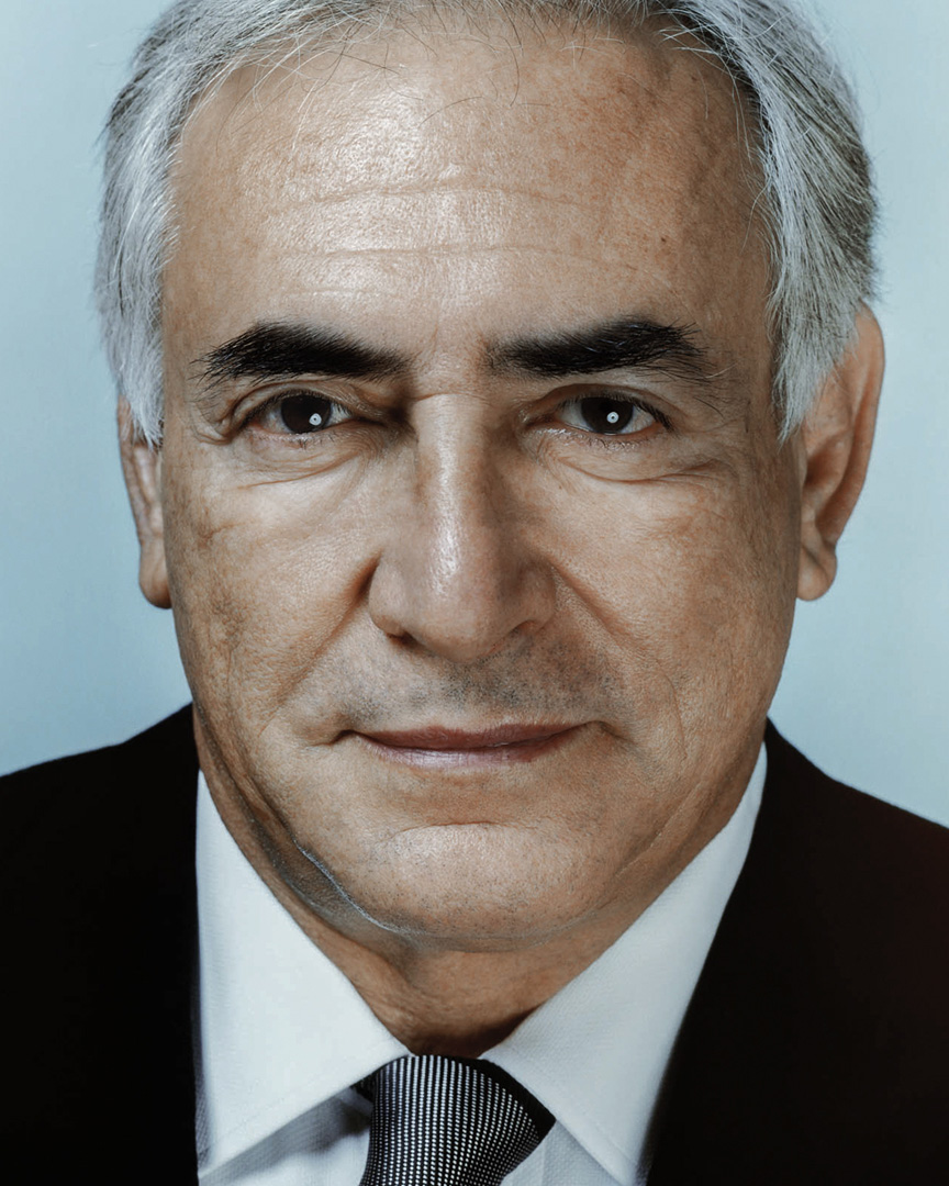 Jean-François Robert - Faces/Public  - Dominique Strauss Kahn